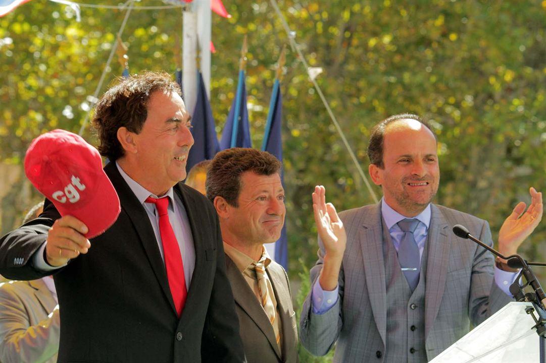 Foto Eric Carrière, Francis Ginibre, Lionel Abelanski