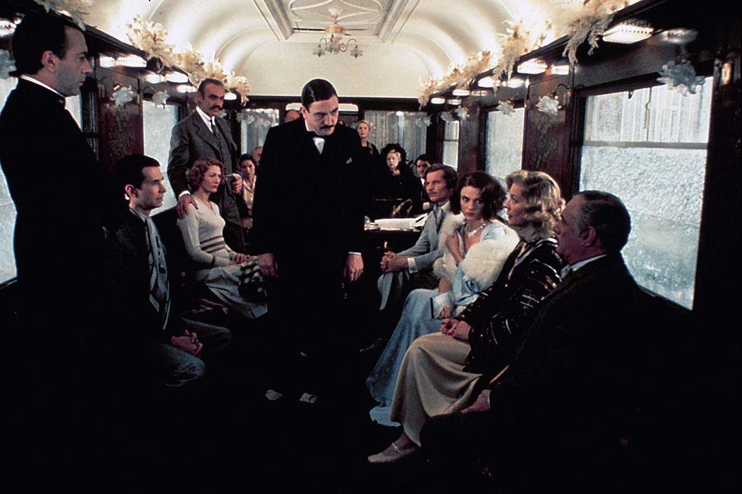 Assassinato no Expresso Oriente: Sean Connery, Ingrid Bergman, Jacqueline Bisset, Albert Finney, Lauren Bacall