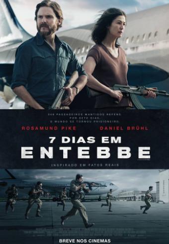 7 Dias em Entebbe : Poster