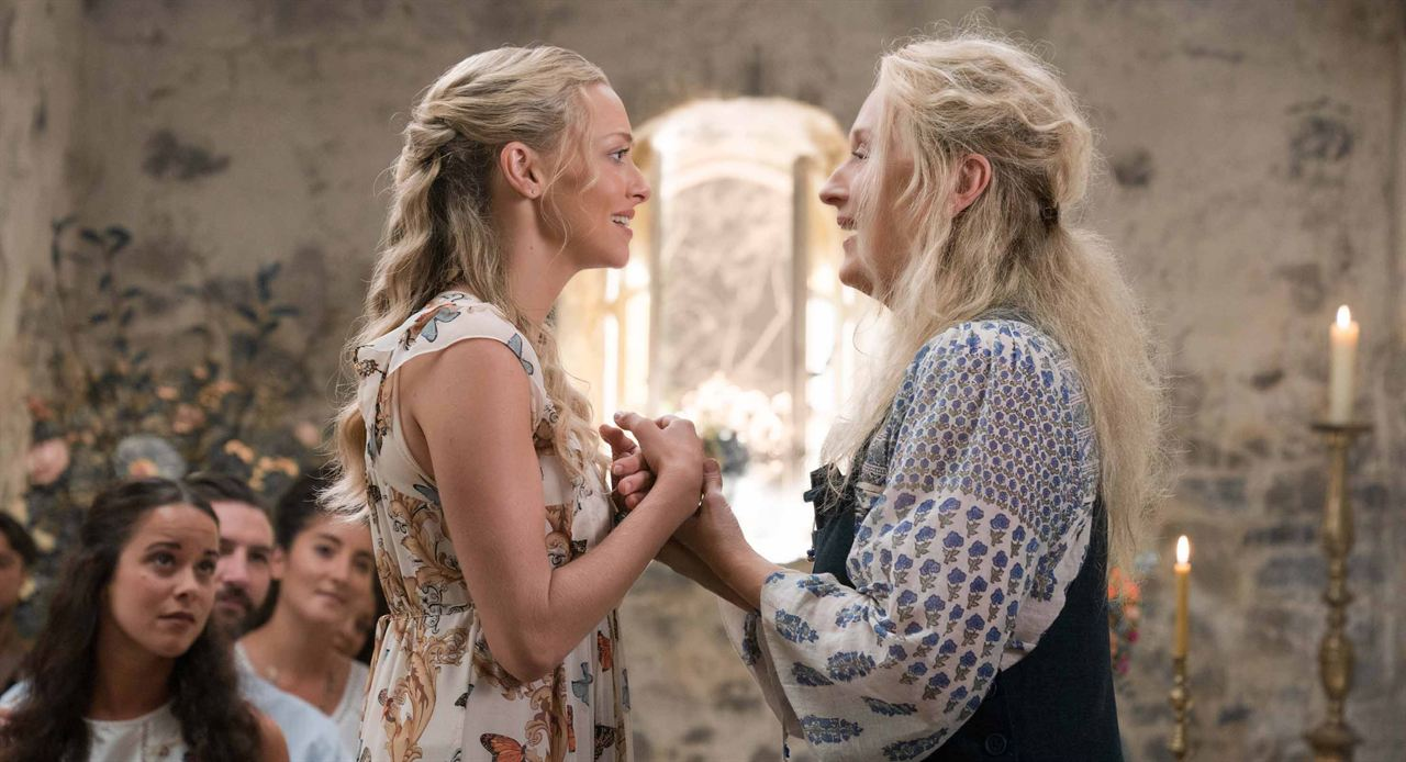 Mamma Mia! Lá Vamos Nós de Novo : Foto Amanda Seyfried, Meryl Streep