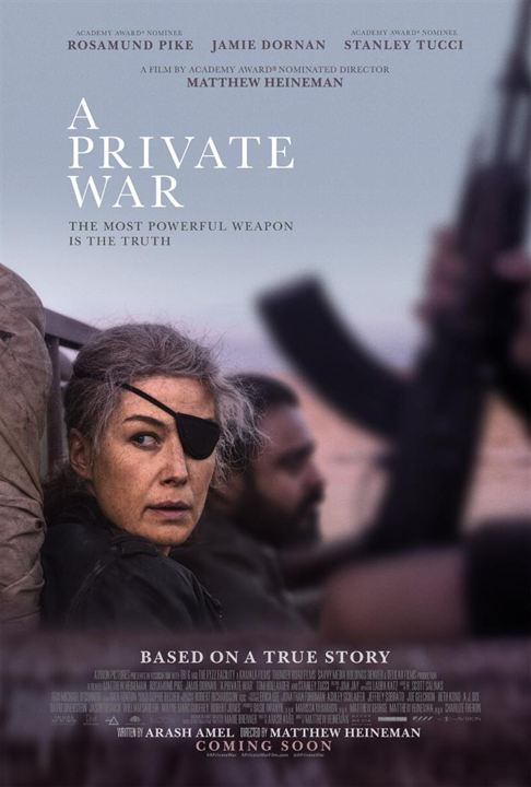 A Private War : Poster