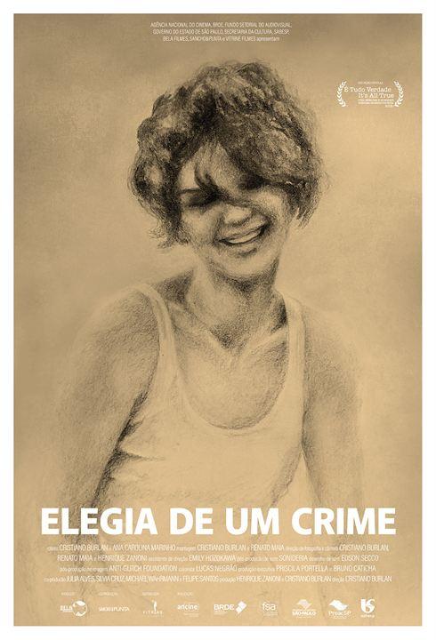 Elegia de um Crime : Poster