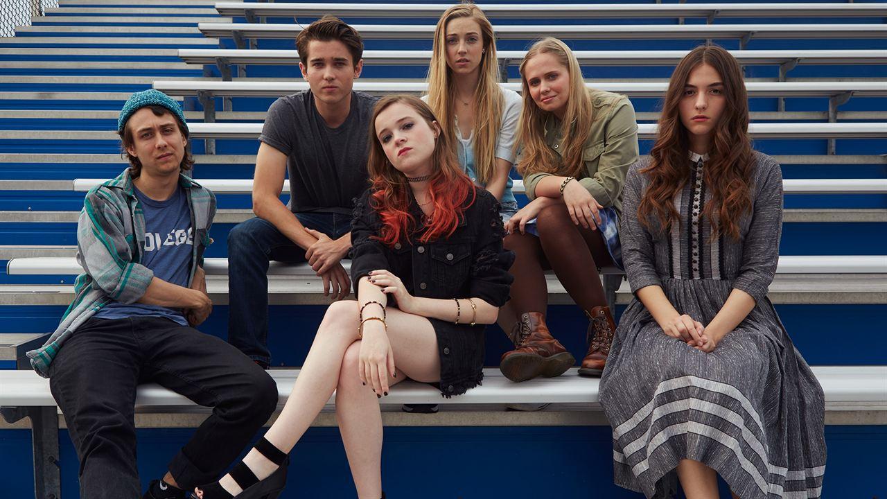 Blame - Strange Romance : Photo Luke Slattery, Nadia Alexander, Owen Campbell, Quinn Shephard, Sarah Mezzanotte