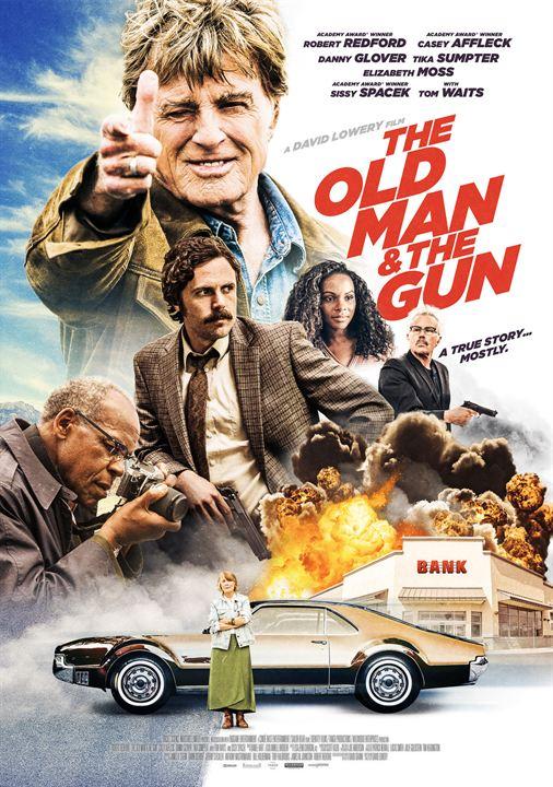 Resultado de imagem para The Old Man and the Gun poster