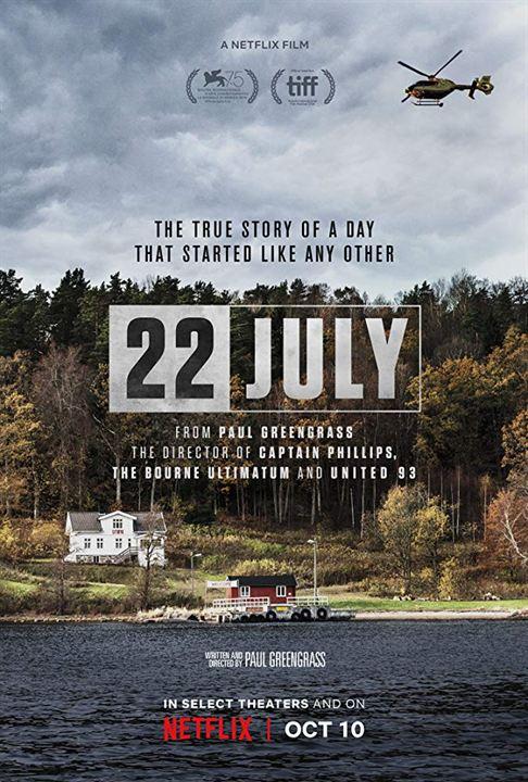 22 de Julho : Poster