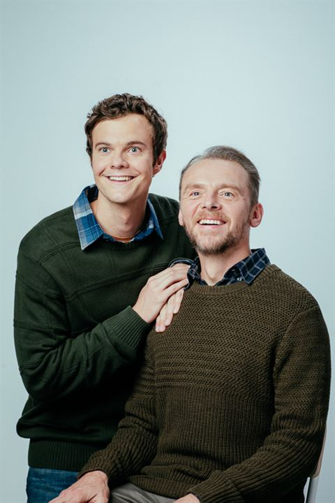 The Boys : Vignette (magazine) Jack Quaid, Simon Pegg