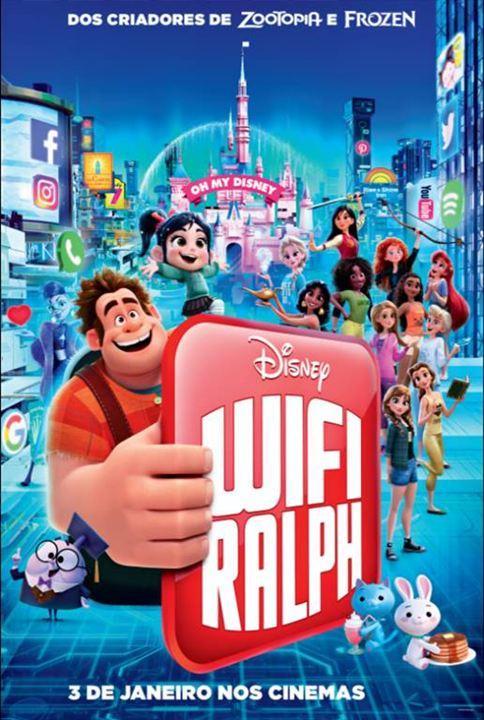 Resultado de imagem para wifi ralph poster cinema