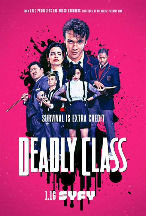 Deadly Class : Poster