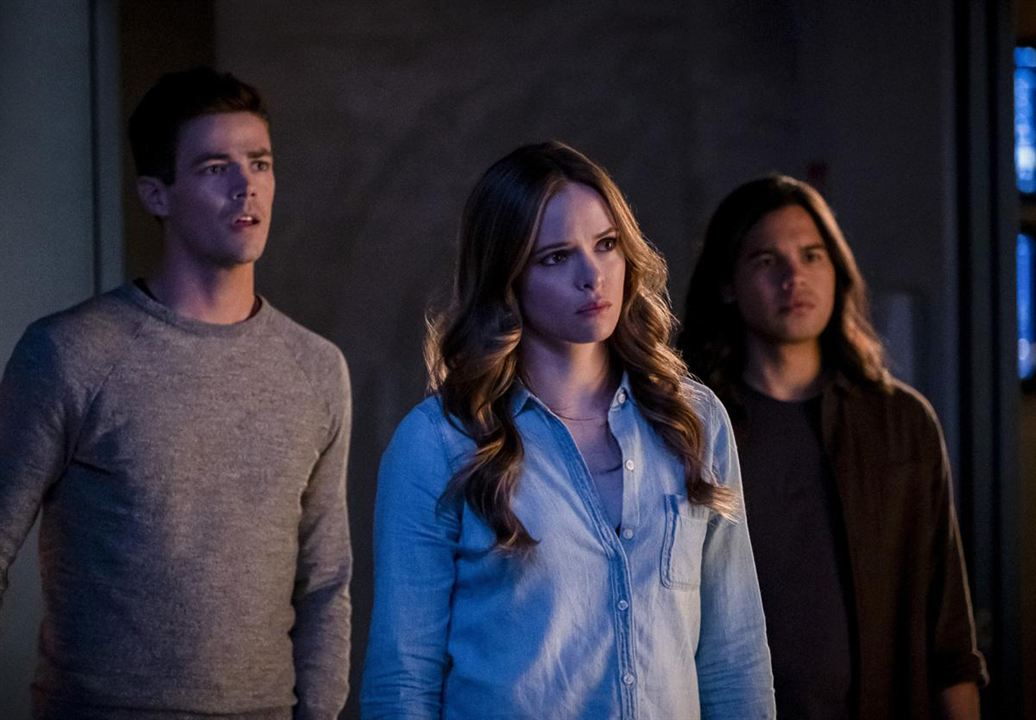 Poster Carlos Valdes, Danielle Panabaker, Grant Gustin