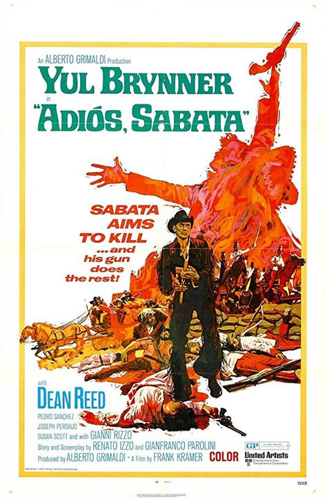 Adiós, Sabata : Poster