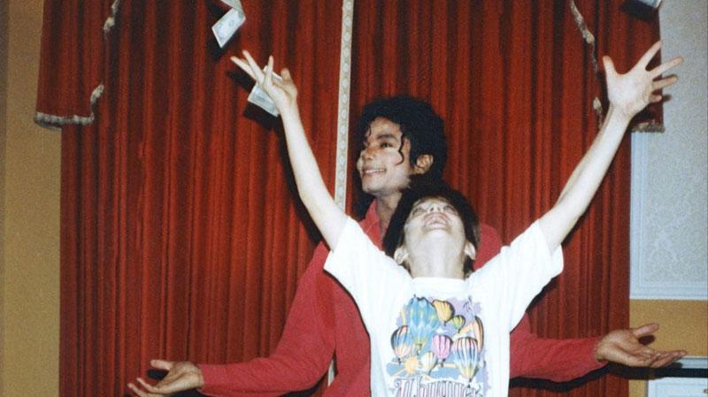 Deixando Neverland : Foto Michael Jackson