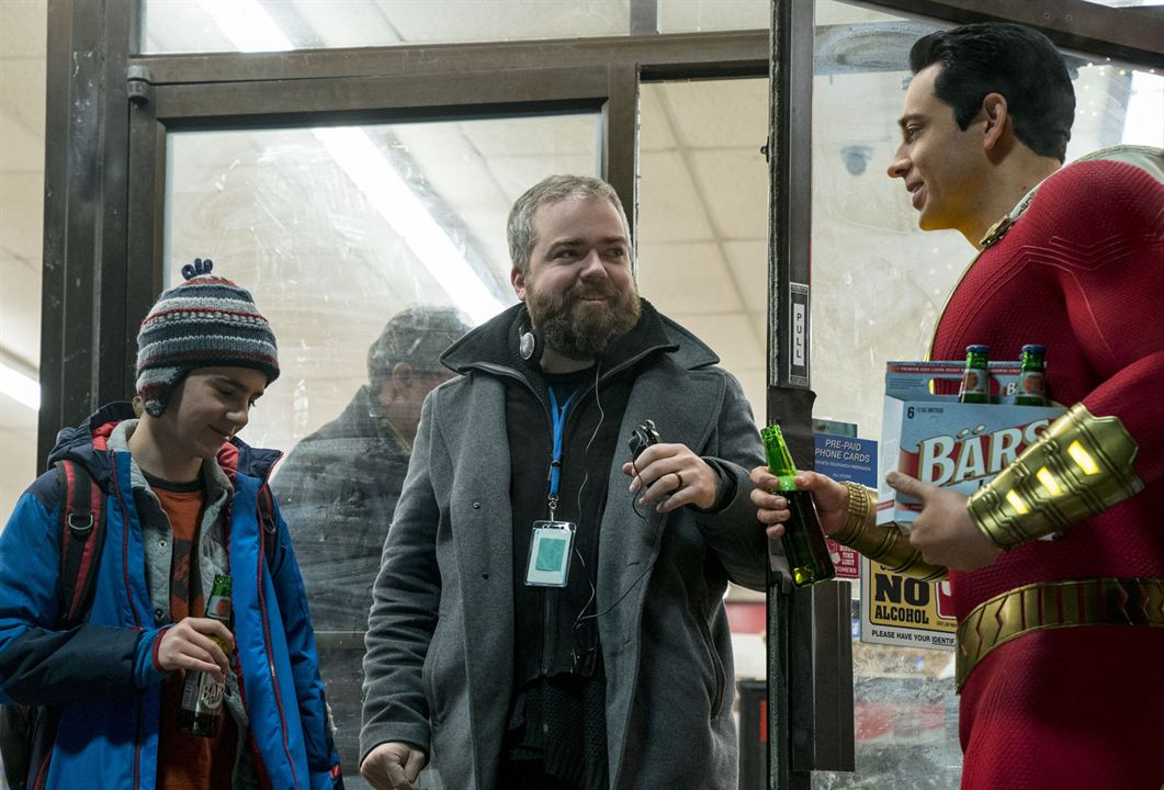 Shazam! : Foto David F. Sandberg, Zachary Levi