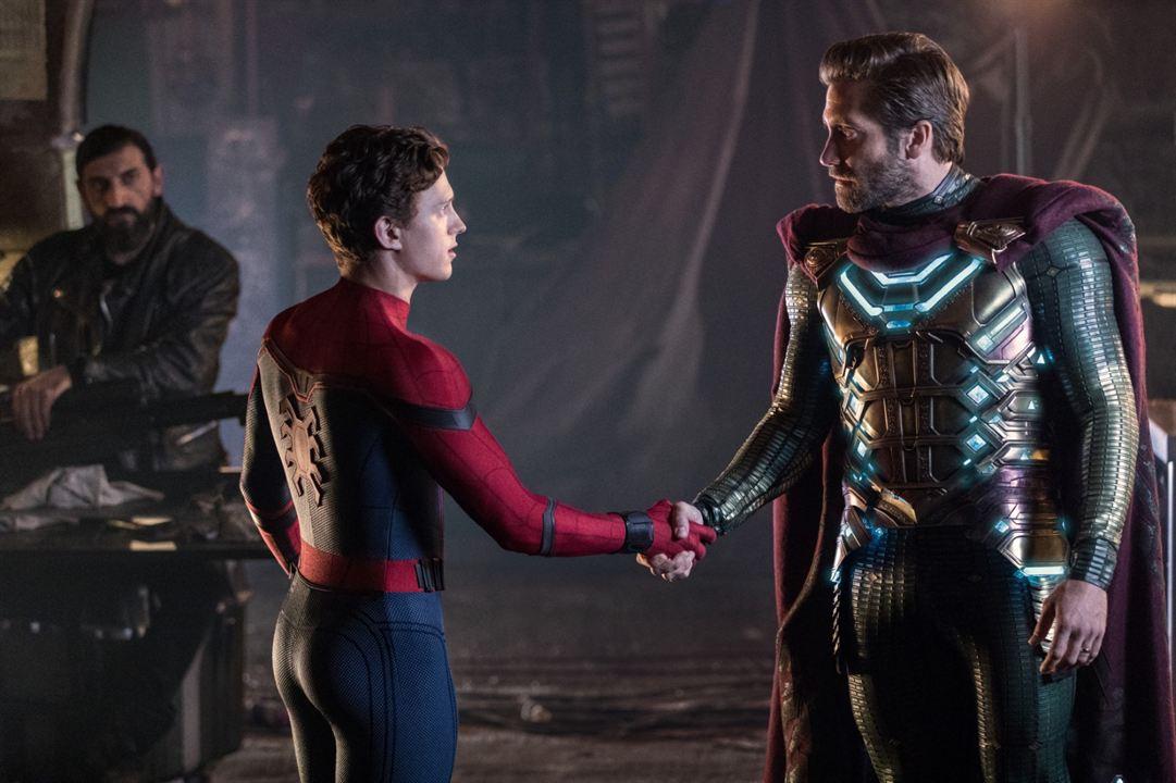 Homem-Aranha: Longe de Casa : Foto Jake Gyllenhaal, Tom Holland
