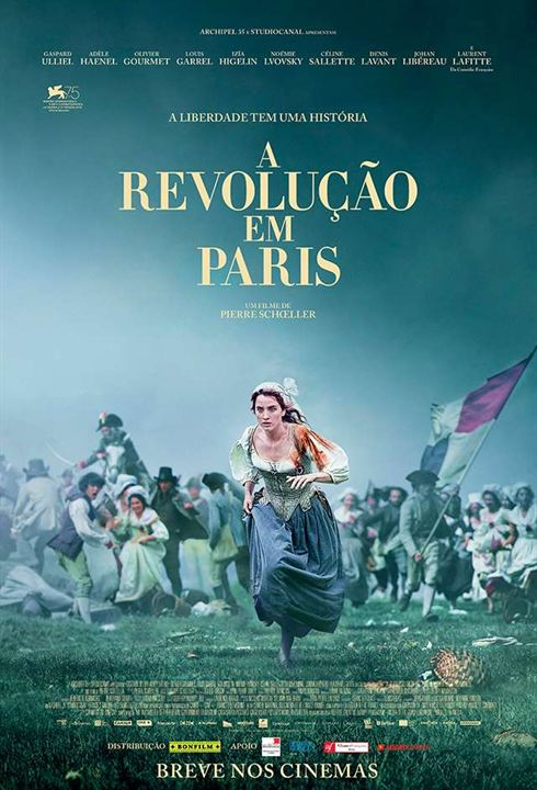 A Revolução em Paris : Poster