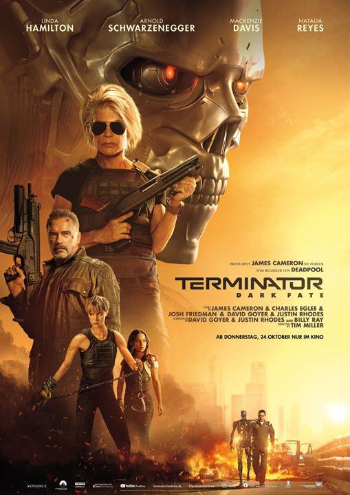 O Exterminador do Futuro: Destino Sombrio : Poster