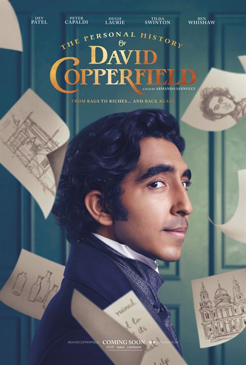 The Personal History of David Copperfield : Poster