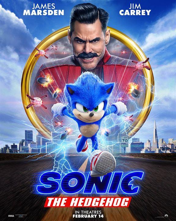 Sonic - O Filme : Poster