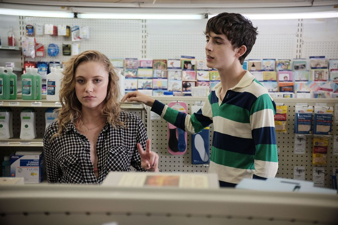 Hot Summer Nights : Foto Maika Monroe, Timothée Chalamet