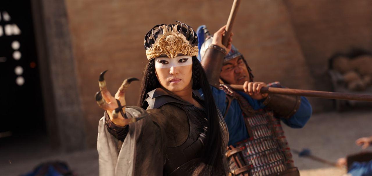 Mulan : Foto Gong Li