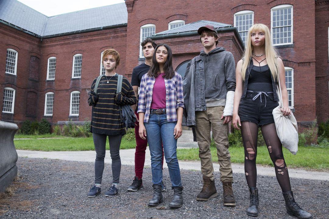 Os Novos Mutantes : Foto Anya Taylor-Joy, Blu Hunt, Charlie Heaton, Henry Zaga, Maisie Williams