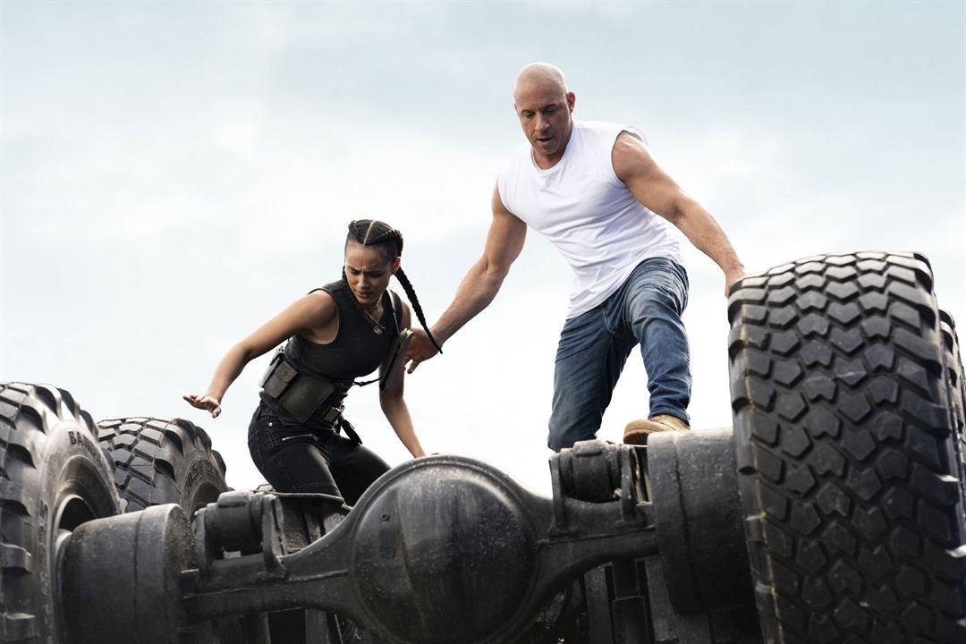 Velozes & Furiosos 9 : Foto Nathalie Emmanuel, Vin Diesel