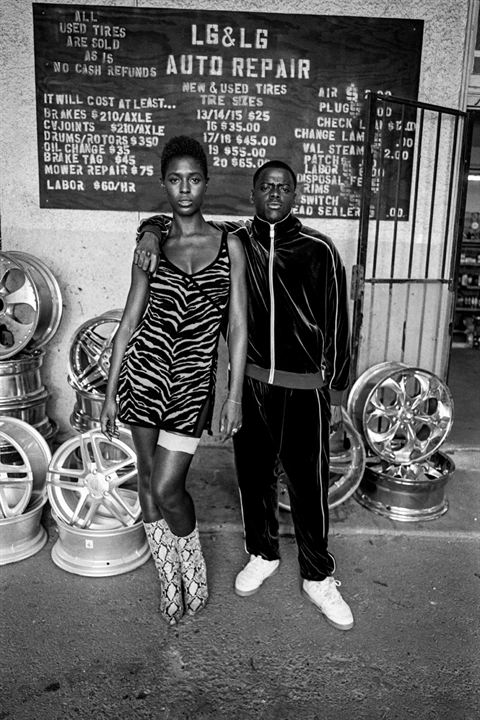 Queen & Slim : Foto Daniel Kaluuya, Jodie Turner-Smith