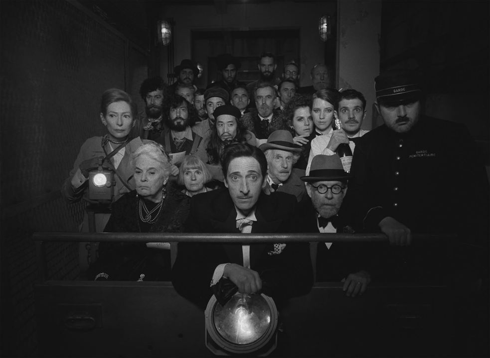 The French Dispatch: Henry Winkler, Bob Balaban, Adrien Brody, Lois Smith, Tilda Swinton