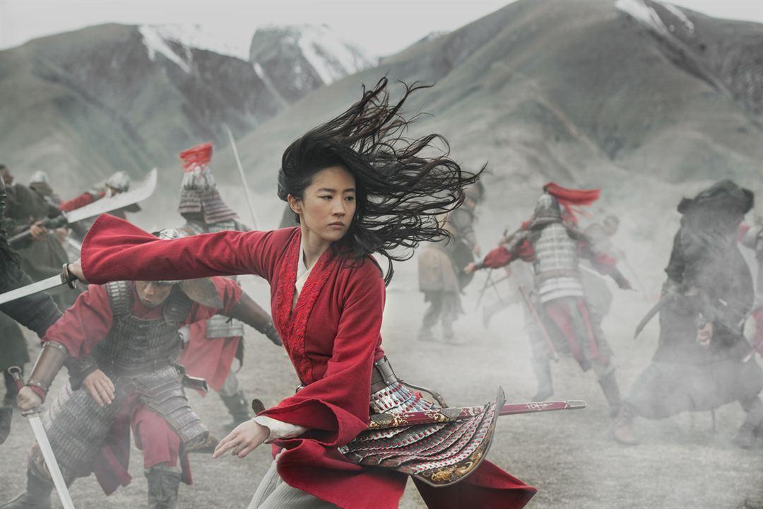 Mulan : Foto Liu Yifei