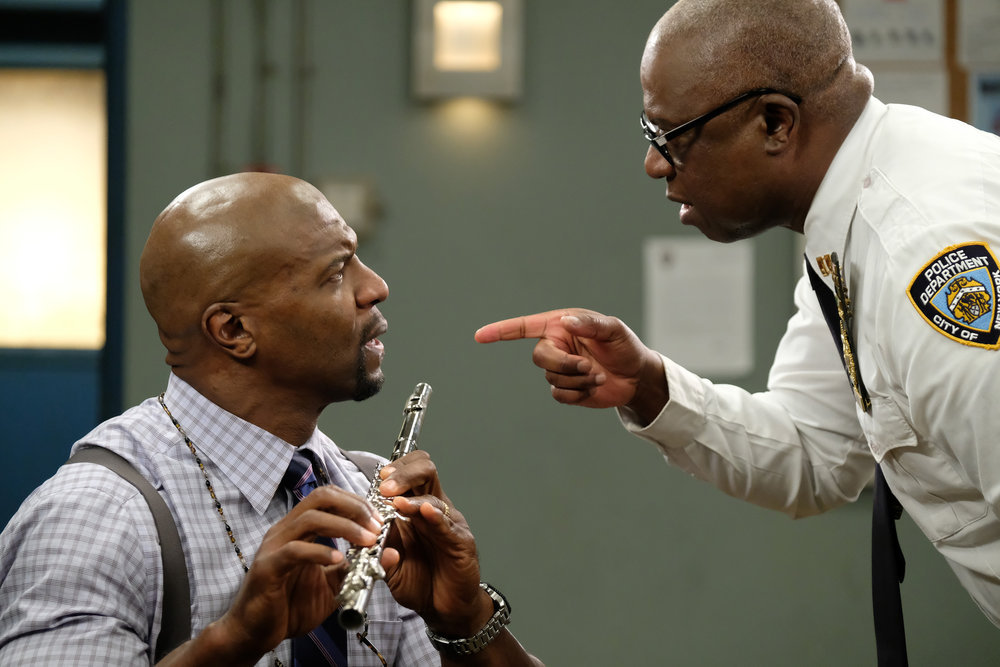 Foto Andre Braugher, Terry Crews