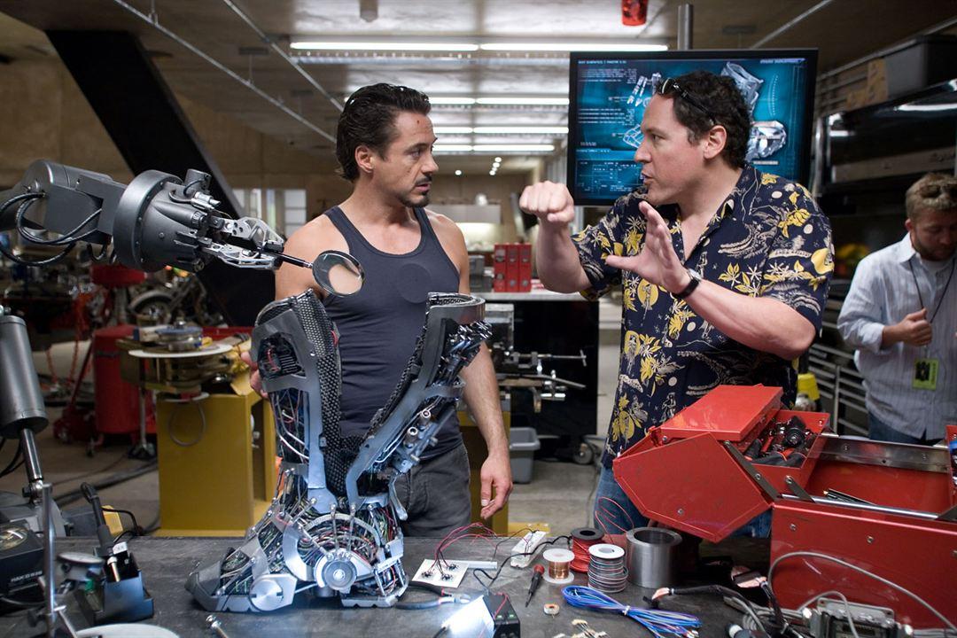 Homem de Ferro : Foto Jon Favreau