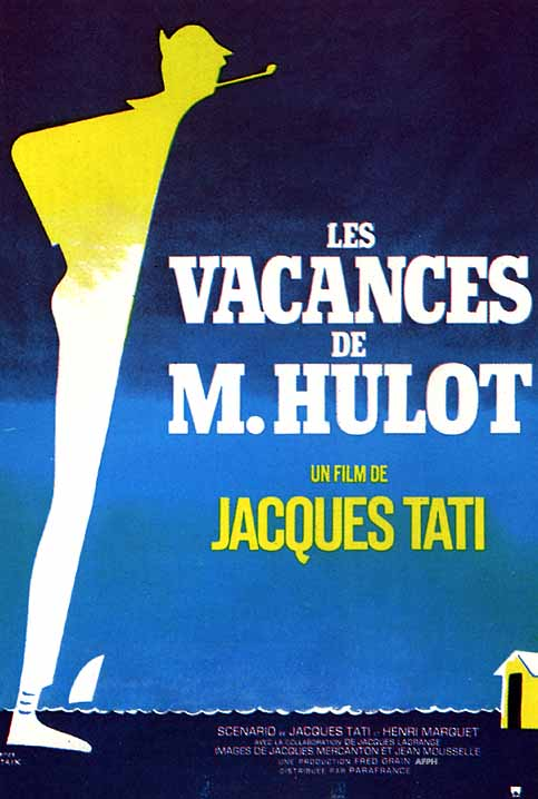 As Férias do Sr. Hulot : Poster