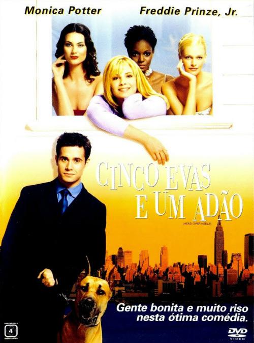 Cinco Evas e Um Adão : Poster