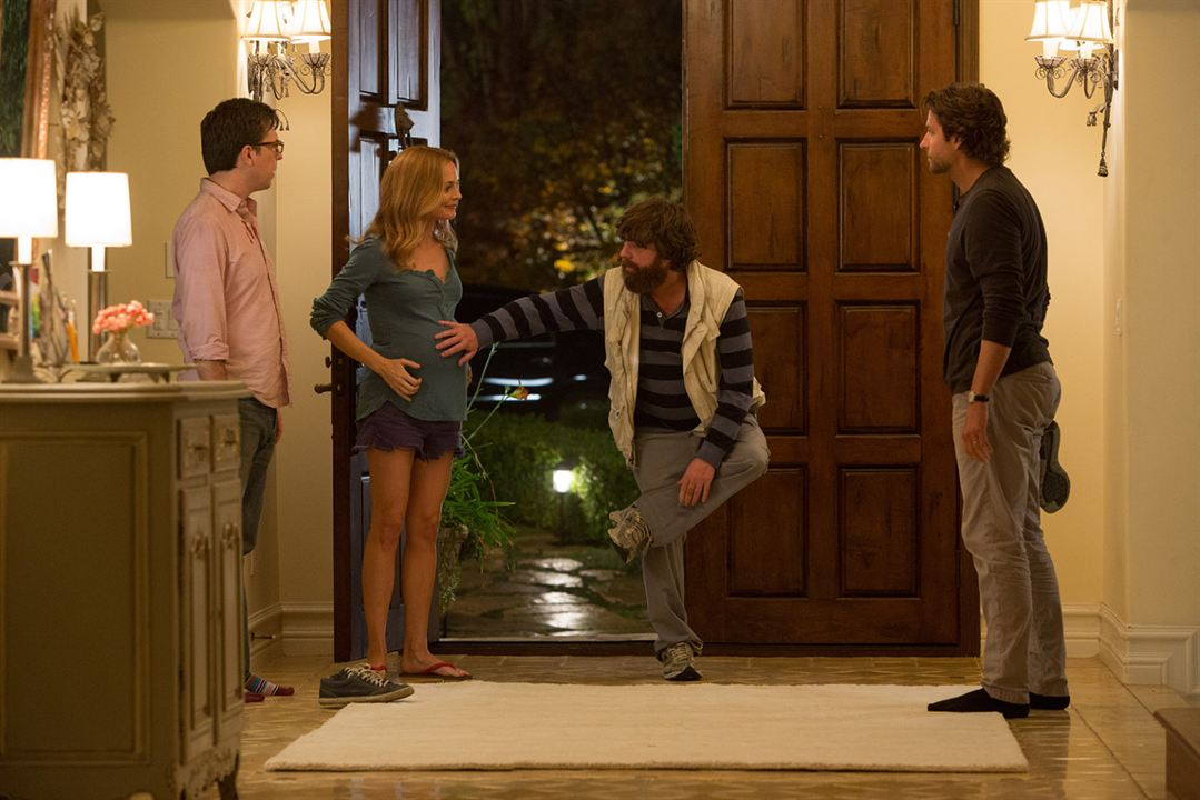 Se Beber, Não Case! Parte III: Zach Galifianakis, Heather Graham, Ed Helms, Bradley Cooper