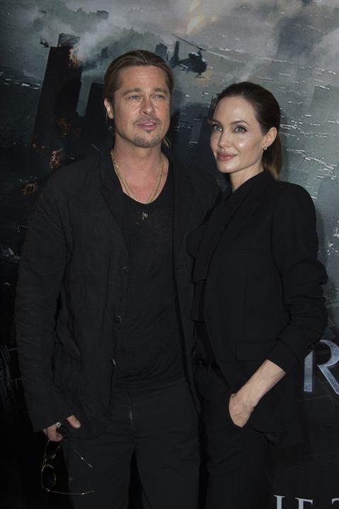Guerra Mundial Z : Vignette (magazine) Angelina Jolie, Brad Pitt