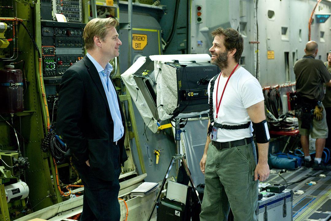 O Homem de Aço : Foto Christopher Nolan, Zack Snyder
