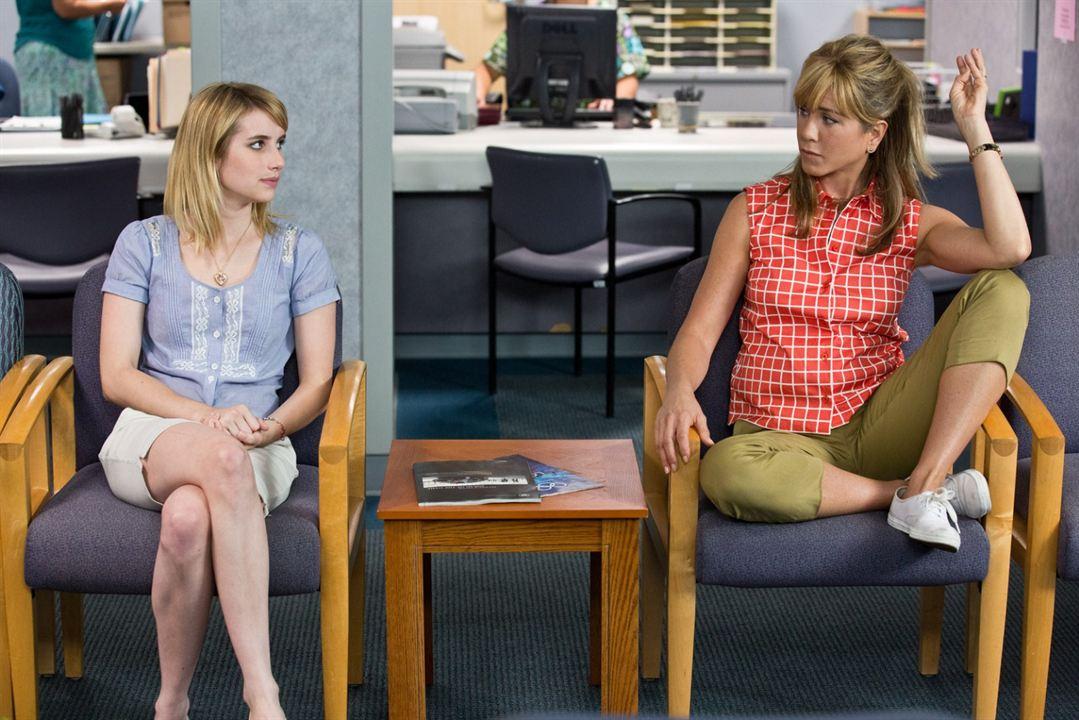 Família do Bagulho : Foto Emma Roberts, Jennifer Aniston