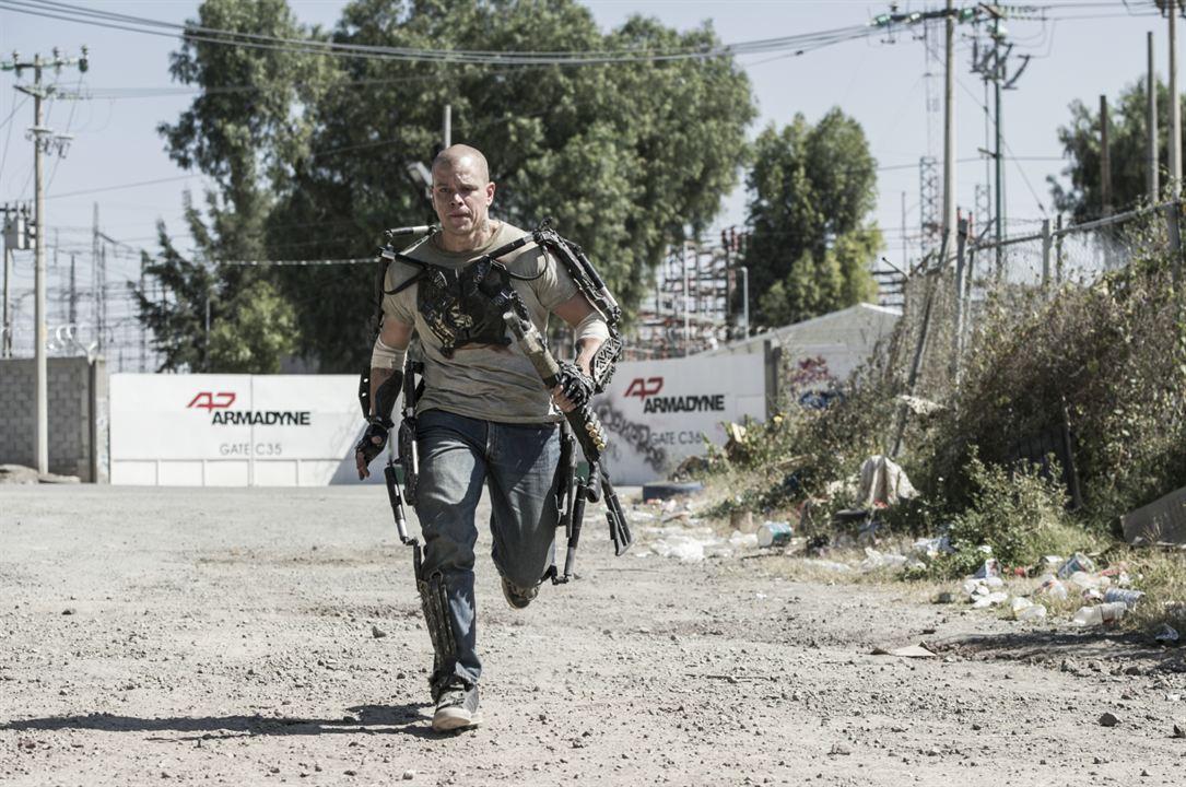 Elysium: Matt Damon