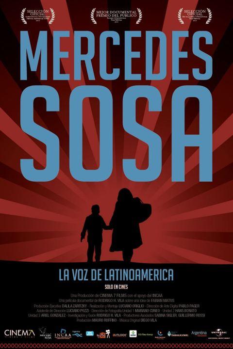 Mercedes Sosa, A Voz da América Latina : Poster