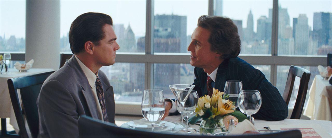 O Lobo de Wall Street : Foto Leonardo DiCaprio, Matthew McConaughey