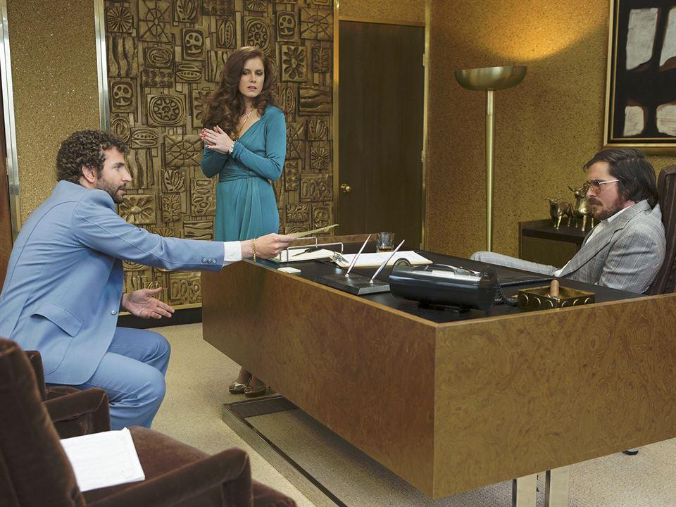 Trapaça : Foto Amy Adams, Bradley Cooper, Christian Bale