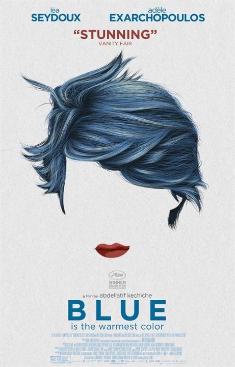 Azul é a Cor Mais Quente : Poster