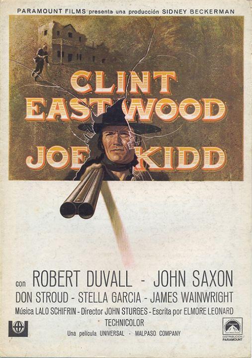 Joe Kidd : Poster