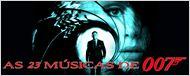 James Bond: 23 filmes, 23 músicas