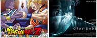 Dragon Ball Z: A Batalha dos Deuses e Gravidade são as principais estreias da semana