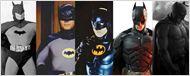 Imagens mostram a representação dos super-heróis nos cinemas e na TV ao longo dos anos