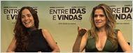 Ingrid Guimarães e Alice Braga explicam como surgiu a amizade inseparável de Entre Idas e Vindas (Exclusivo)