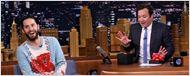 Jared Leto dá presente esquisito para Jimmy Fallon em nome do Coringa