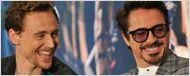 Robert Downey Jr. brinca com Tom Hiddleston e diz que ele ama Tony Stark