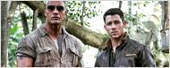 Nick Jonas dá as caras no set de Jumanji e novos detalhes da trama são divulgados
