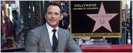 Chris Pratt ganha estrela na Calçada da Fama